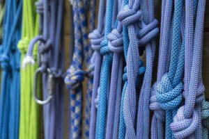 Bergsteigen, Ausrüstung, Seile